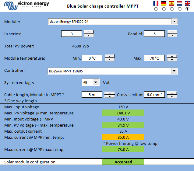 Matching solar modules to mppt charge controllers victron energy spreadsheet form keyboard keysfo Gallery