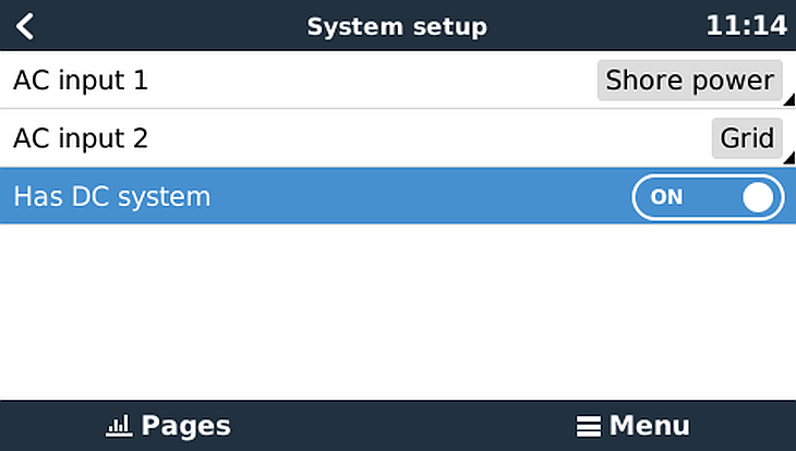 System_setup