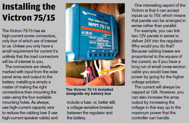 Victron MPPT Shines: Fitting solar panels to boats - Victron