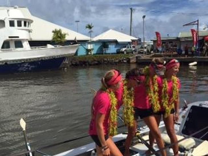 Samoa arrival