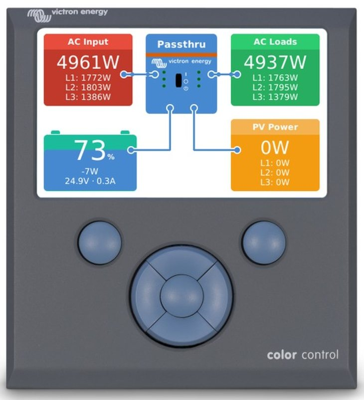 Color Control GX v1 36 firmware released - Victron Energy