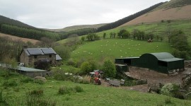 Off Grid at Parc Bach farm
