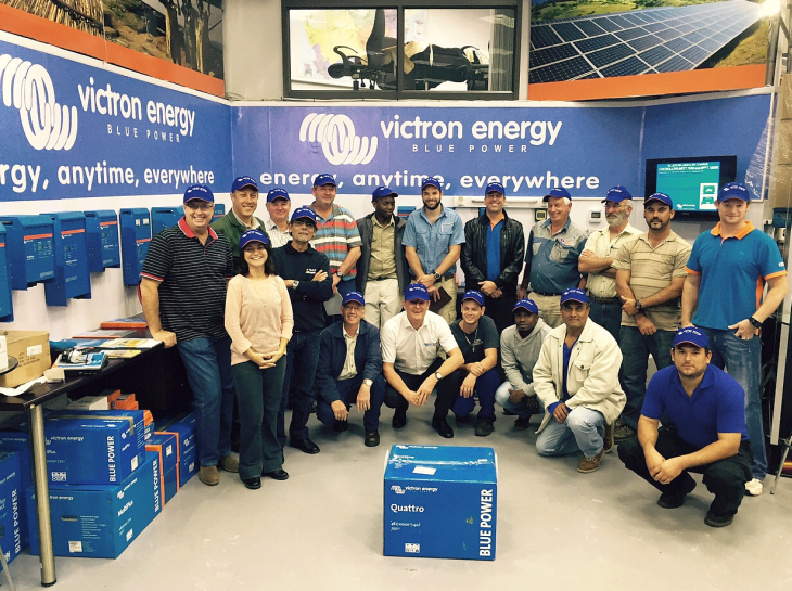 Victron Energy: Advanced training workshops in South Africa