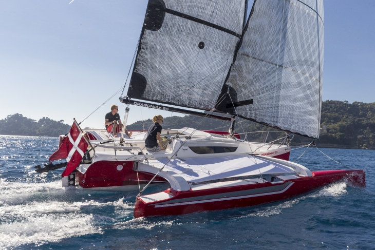 Dragonfly trimarans: Victron equipped by Coromatic A/S - Victron