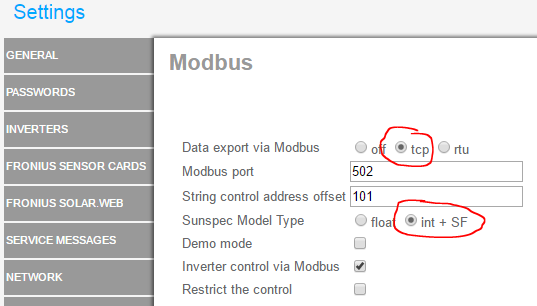 fronius-modbus_settings