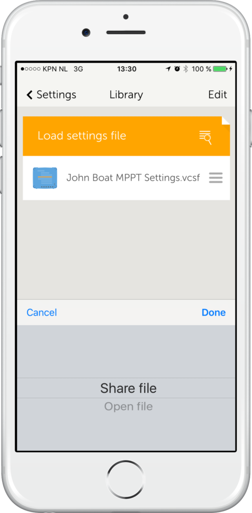 VictronConnect v3 1 released - demo, save, share & load - Victron