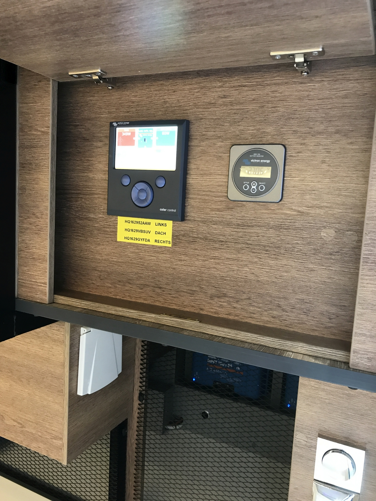 Dethleffs electric drive motorhome with Victron onboard