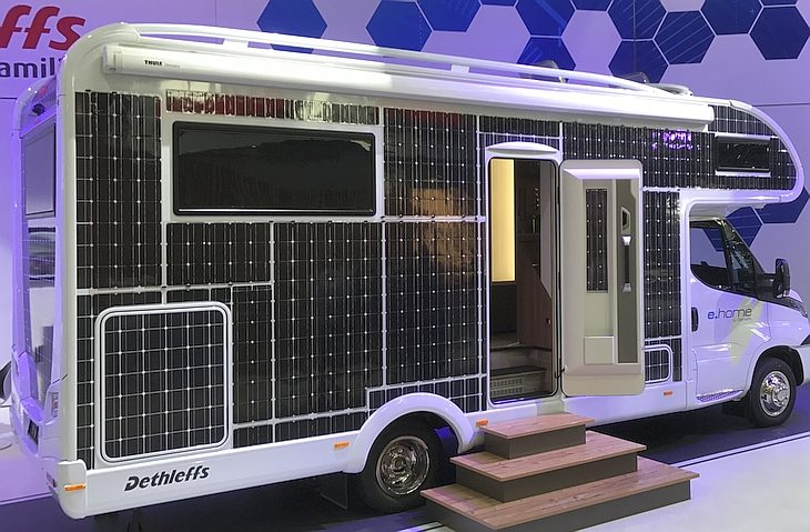 Dethleffs electric drive motorhome with Victron onboard - Victron ... b2aba21b11f