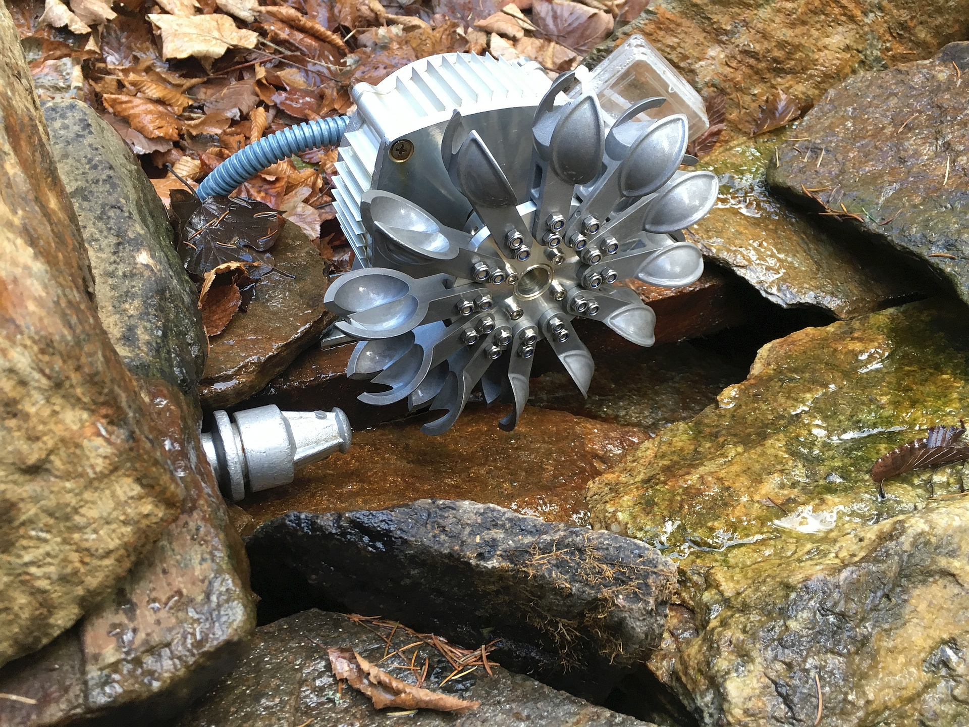 DIY ingenuity: Hydro Power in the Austrian Alps - Victron