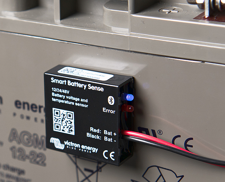 Voltage & Temperature Sense for Solar Chargers - Victron
