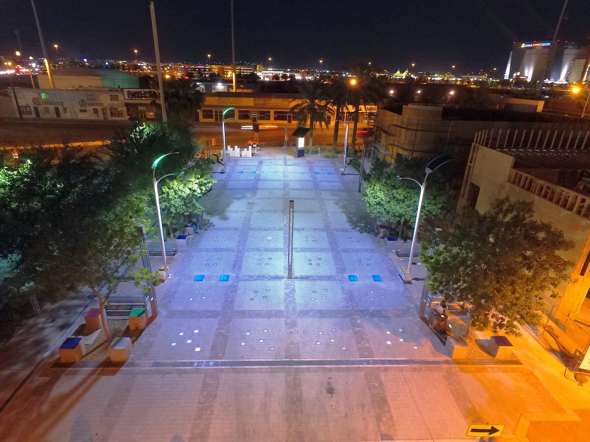 Smart Solar Street Lights Lighting Up Kuwait And
