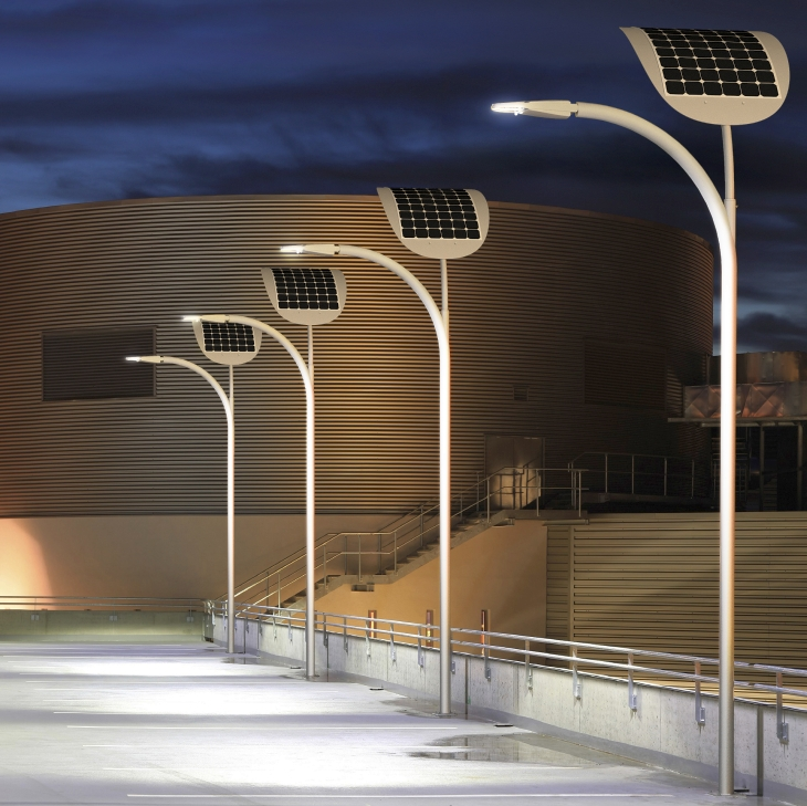 Smart Solar Street Lights Lighting Up Kuwait And