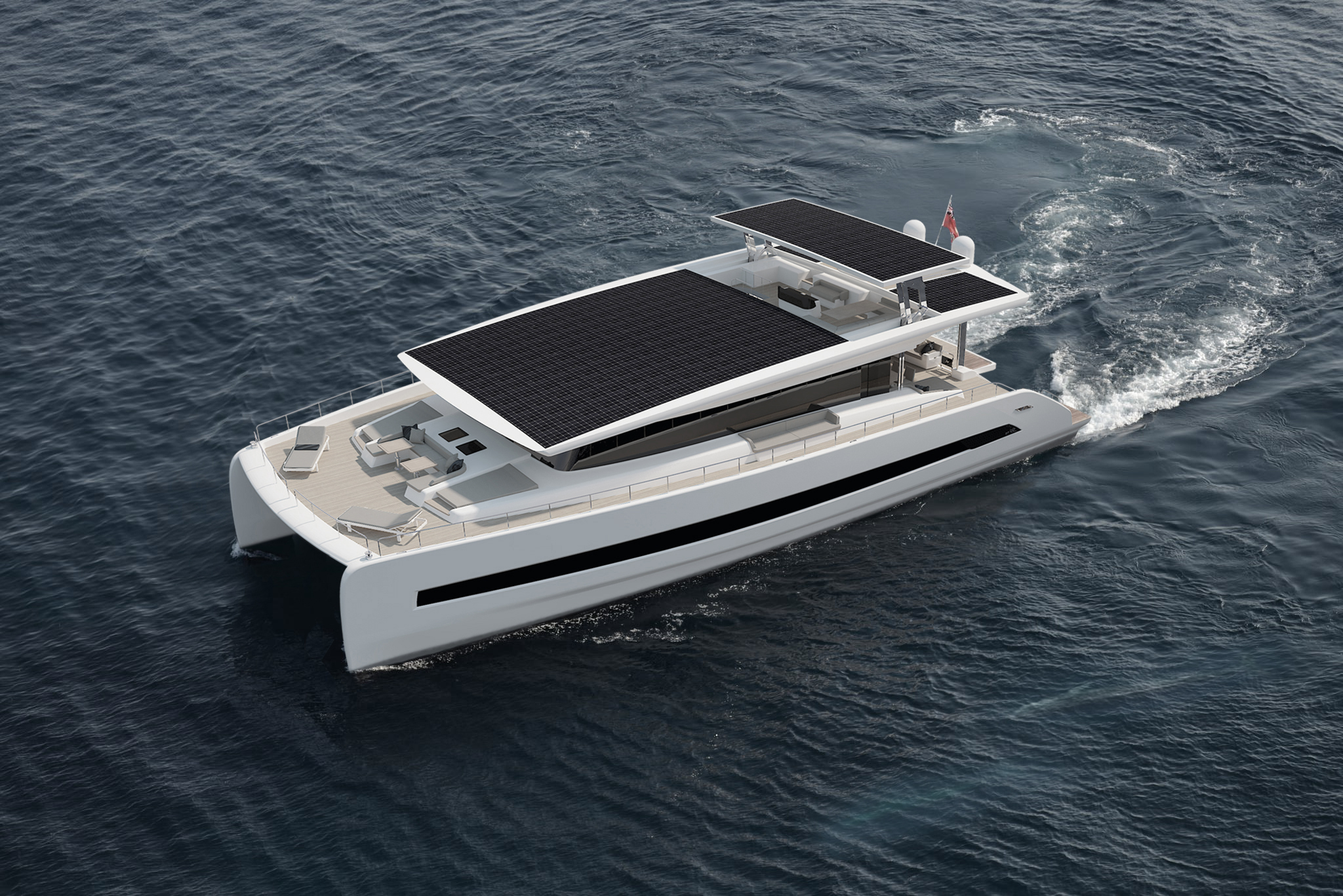 Silent-Yachts: A new breed of cruising yacht - Victron