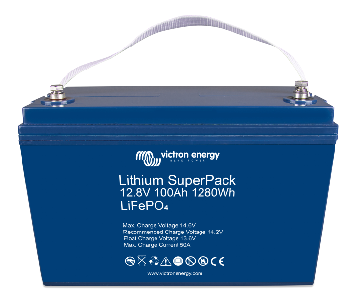 Lithium SuperPack batteries - an all in one solution