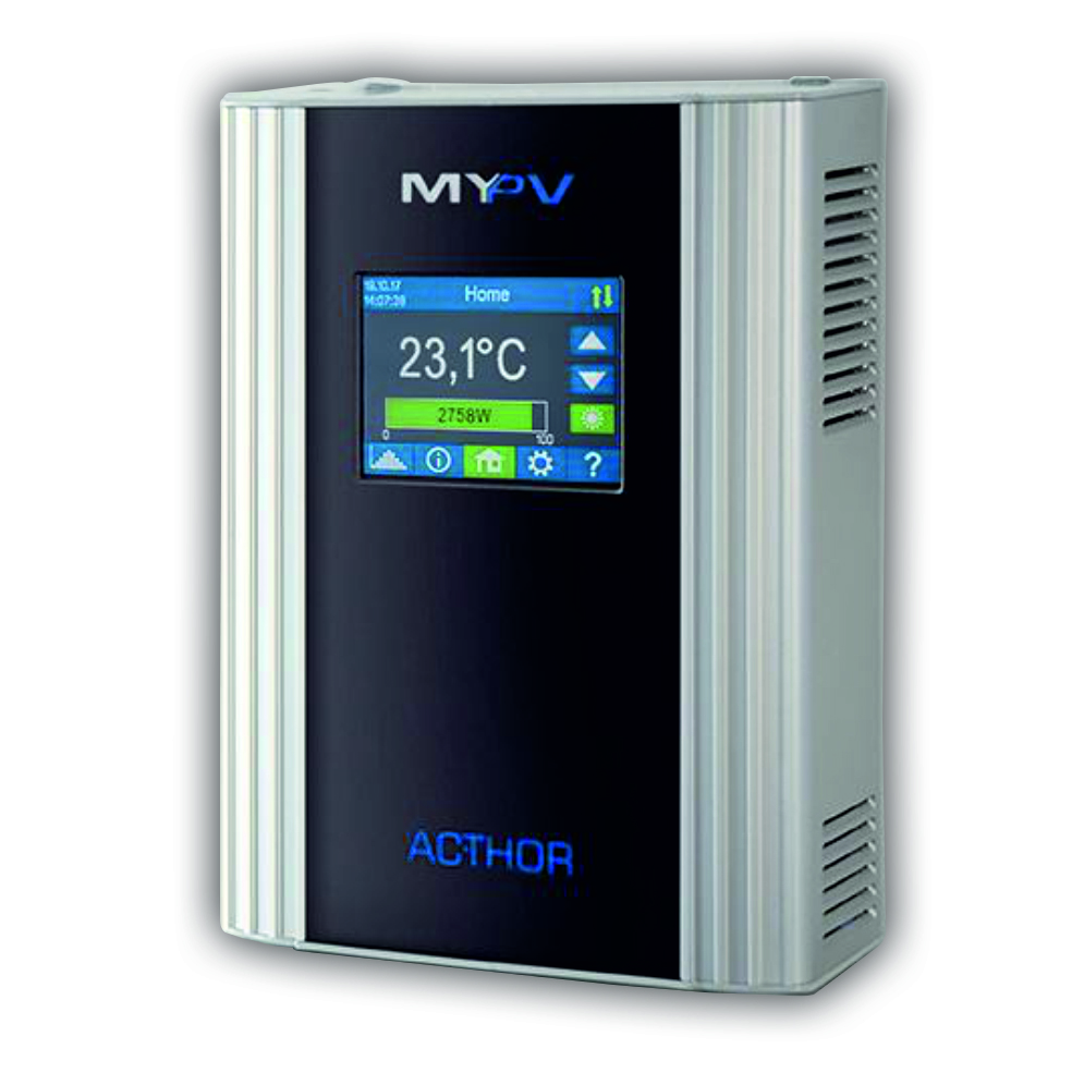 MY-PV Water and space heating