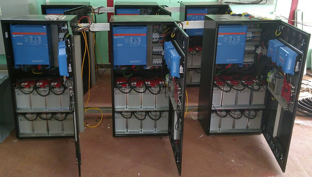 BOS AG: Myanmar Li + Pb Mini-Grid
