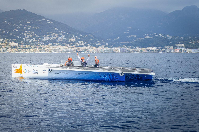 TU Delft Solar Boat Team - crowned World Champions at Monaco