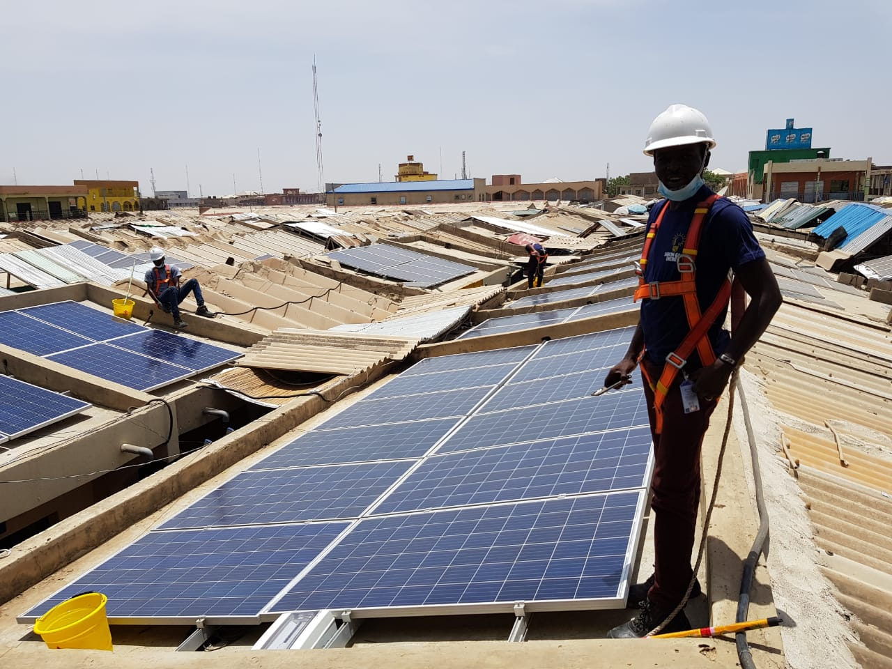Solar energy excitement in Nigeria | Victron Energy