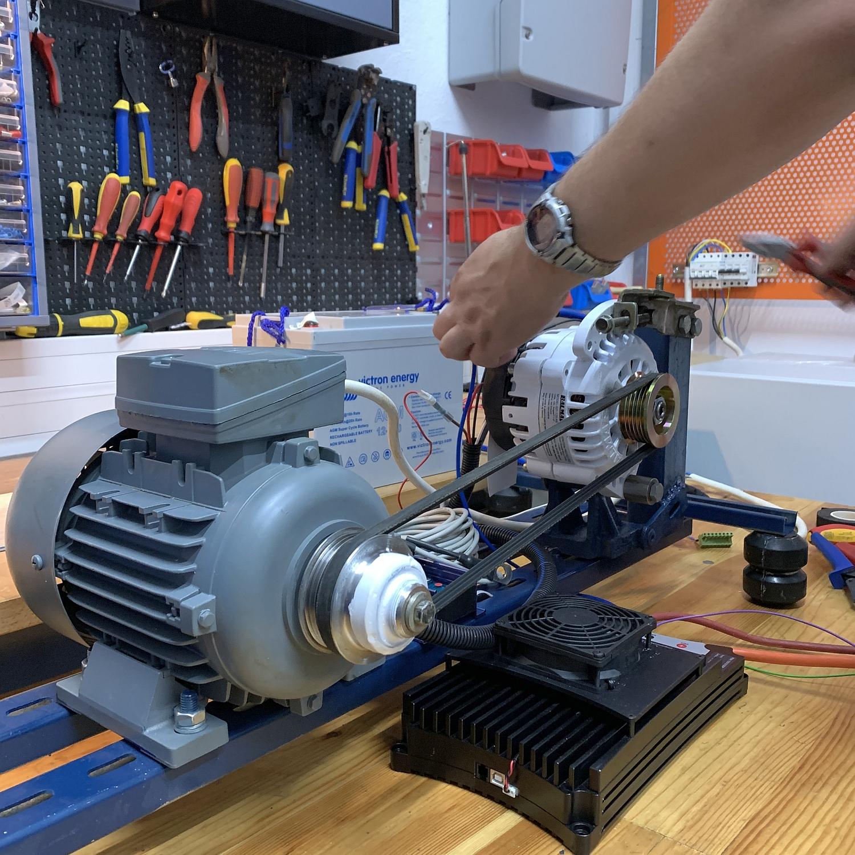 Careful Alternator Charging Lithium Victron Energy