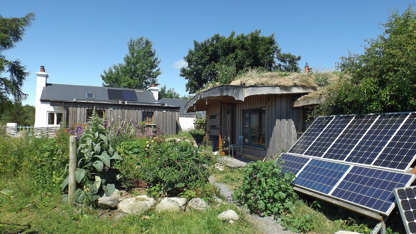 Off-Grid living, working & educating at Lackan Cottage Farm