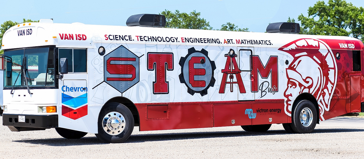 Education at its finest – Steaming along with the STEAM Bus