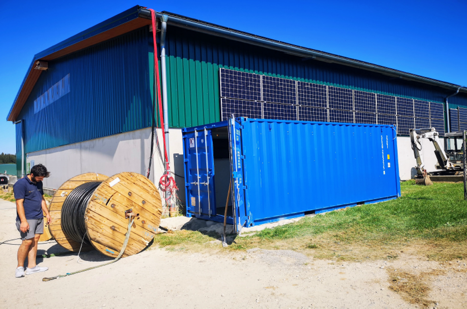 VIC – ESS turnkey power container