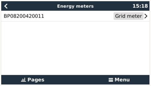 energy meter menu Contatori di Energia per impianti ad accumulo EM24 3 phase max 65A/phase Ethernet REL200200100 Ryanenergia