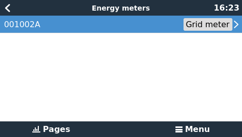 energy meters:em112 settings list Contatori di Energia per impianti ad accumulo ET340 3 phase max 65A/phase Victron energy REL300300000 Ryanenergia