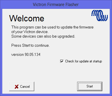 Updating VE Bus firmware, using VEFlash [Victron Energy]