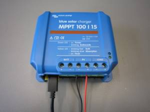 Changing settings in the BlueSolar MPPT Charge Controllers
