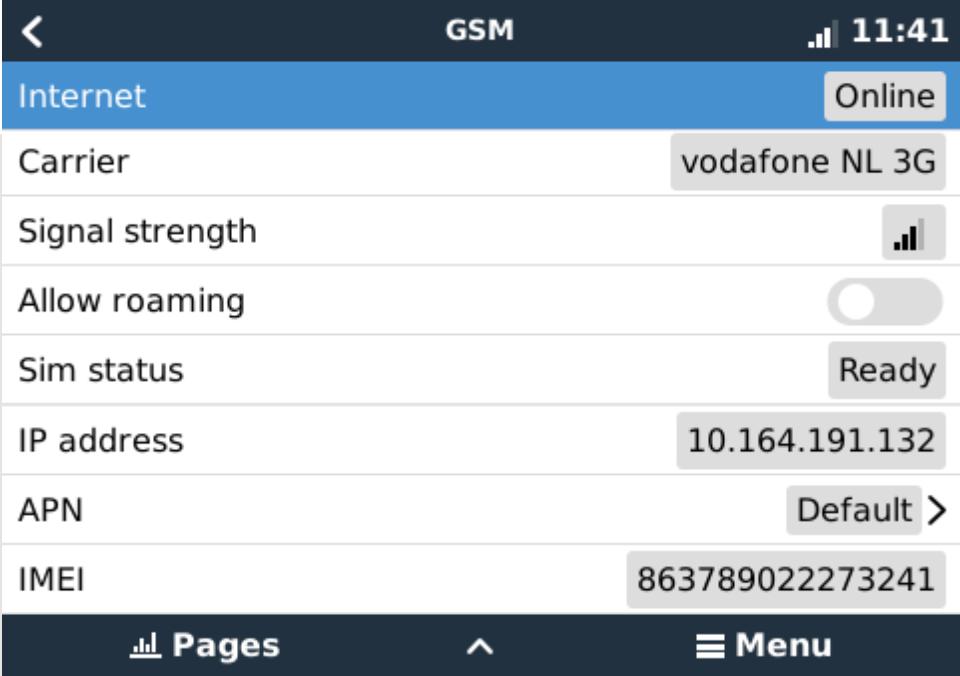 GX GSM manual [Victron Energy]