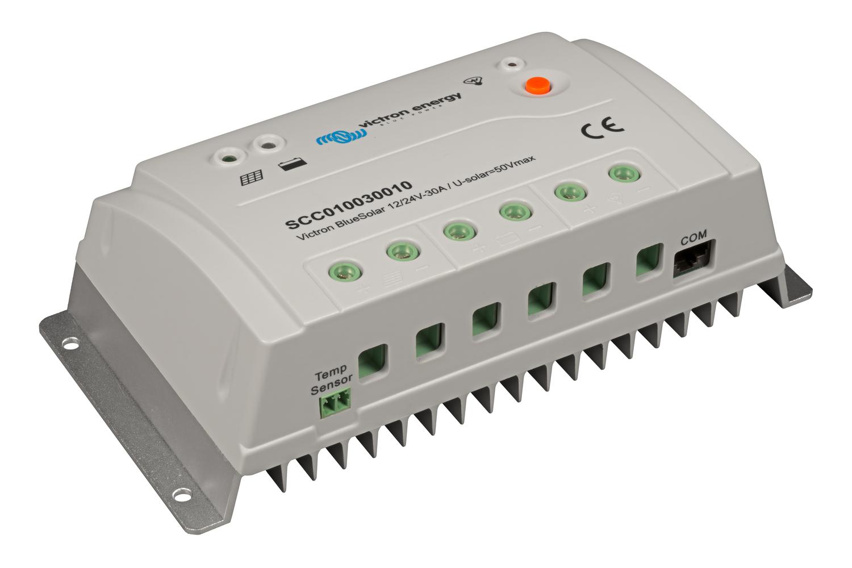 VICTRON BlueSolar PWM 12//24V 10AMP light Solar Charge Controller SCC010010000
