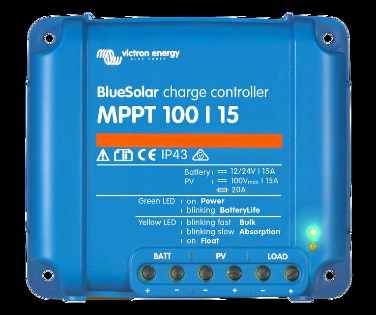 BlueSolar MPPT 75/10, 75/15 & 100/15 (12 / 24 Volt + load output ...