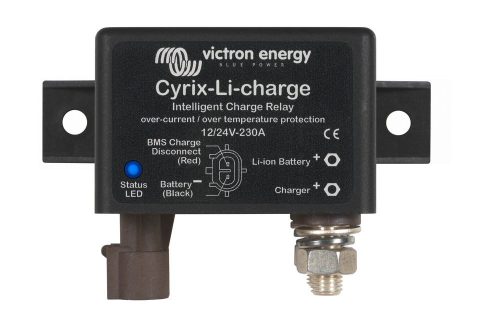 Car Battery Voltage >> Cyrix Battery Combiners - Victron Energy