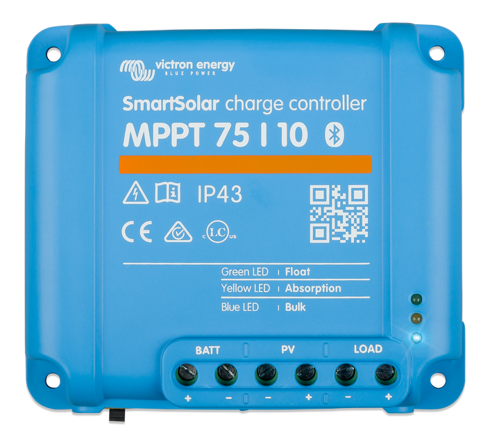 SmartSolar MPPT 75/10, 75/15, 100/15 & 100/20 - Victron Energy