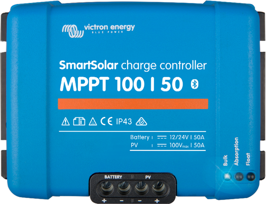 Solar Charge Controllers - Victron Energy
