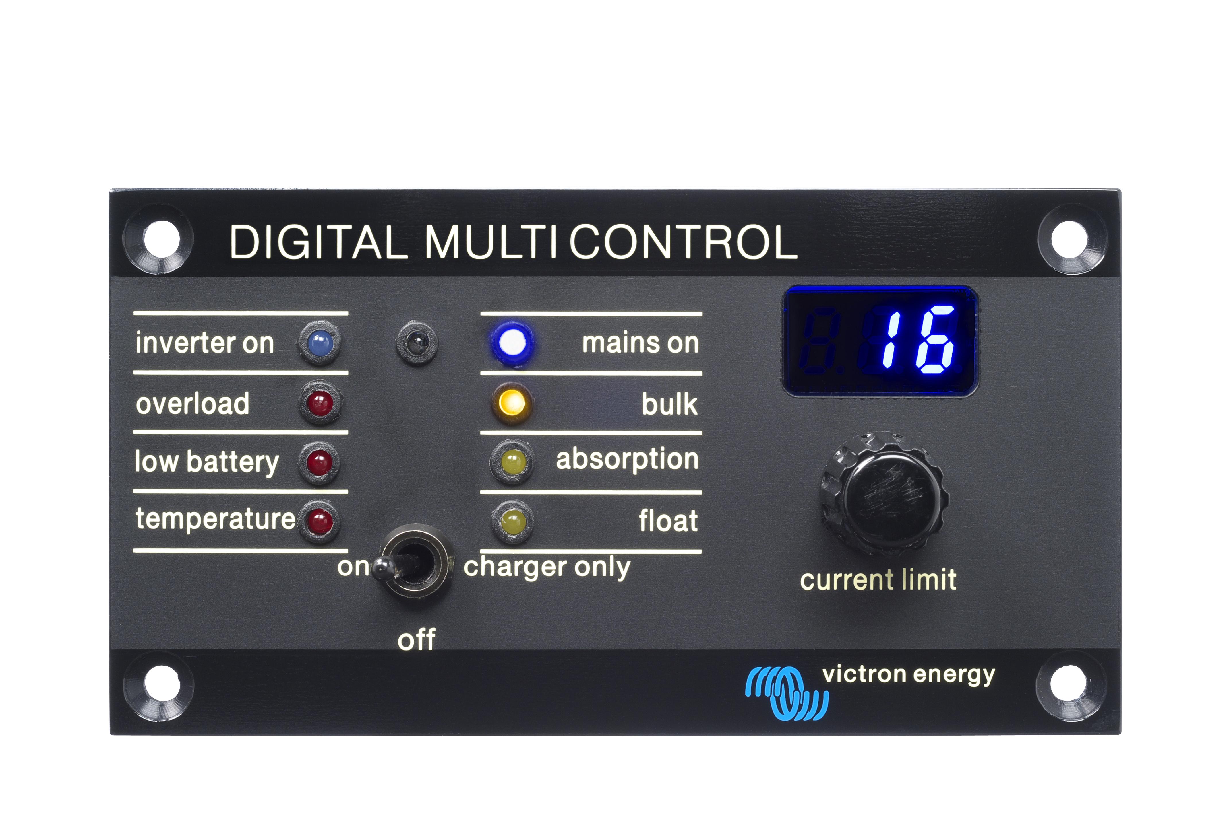 Digital Control Panel : Multiplus victron energy
