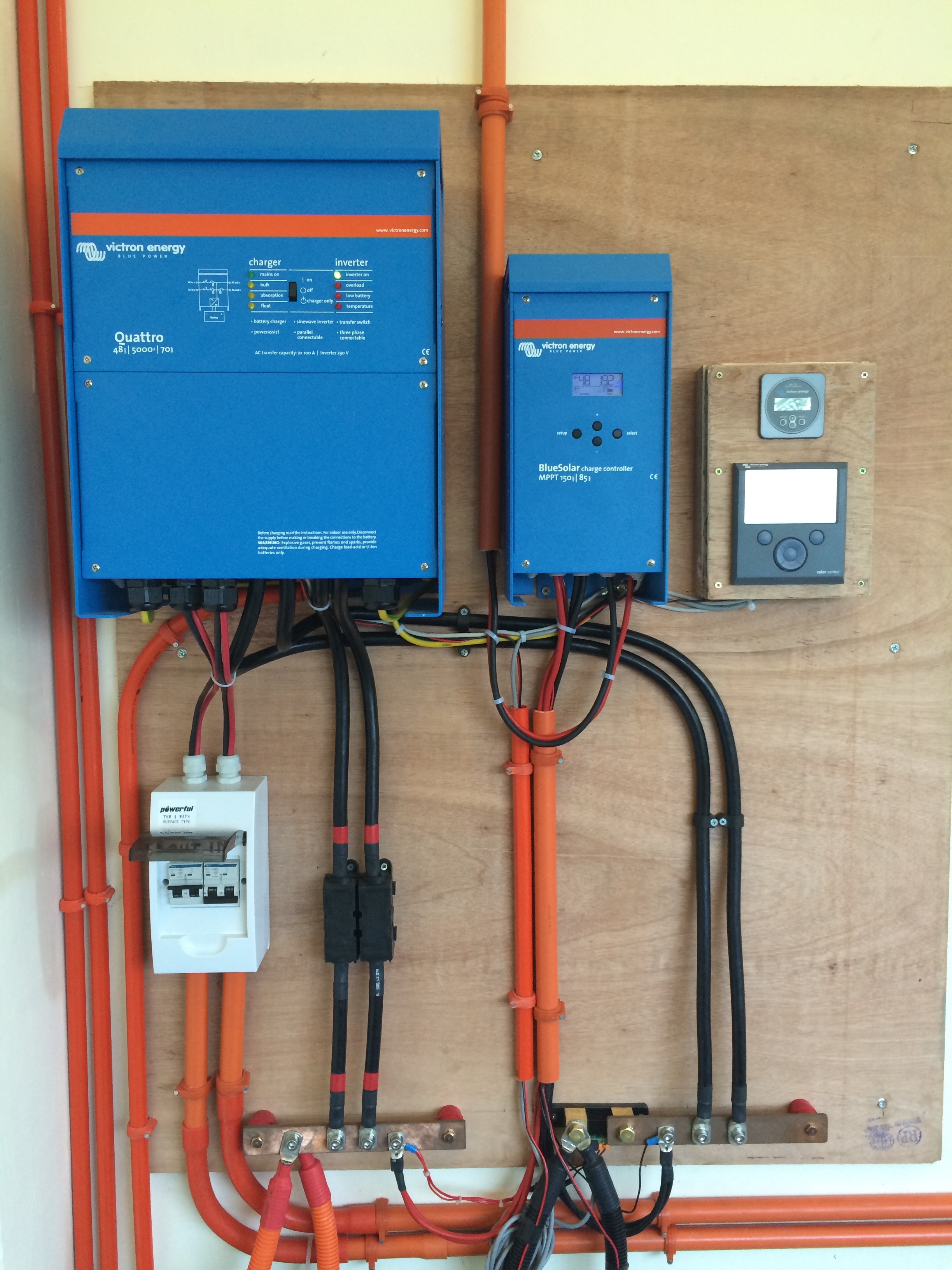 Victron Charge Controller Wiring Diagram Free For You Wire Off Grid Apartments In The Philippines Energy Rh Victronenergy Com Pressure Washer Xantrex
