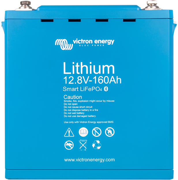 Lithium battery 12,8V & 25,6V Smart - Victron Energy