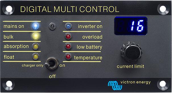 Digital Multi Control 200 200a Victron Energy