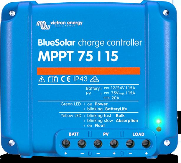 62bdfaa4cdd BlueSolar MPPT 75/10, 75/15 & 100/15 (12 / 24 Volt + load output ...
